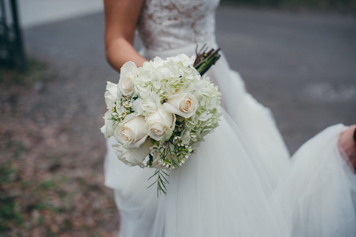Ruth and Nick's Gorgeous Georgia Wedding with First Look bouquet By Parenthesis Photography