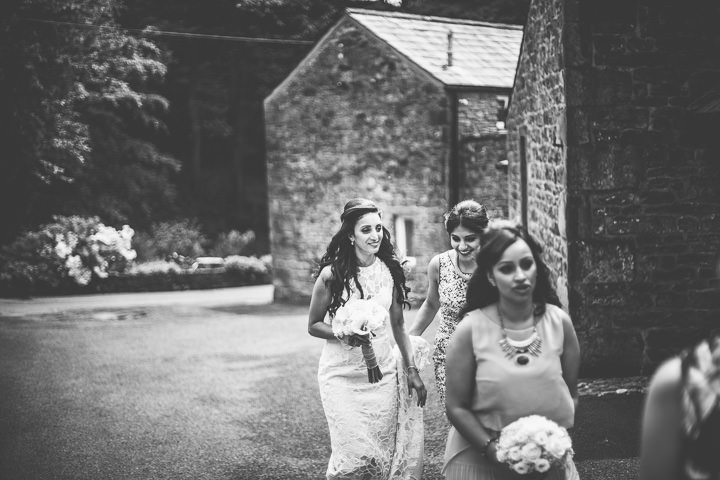 Wedding in Wolfen Mill bride Lancashire By Fairclough Photography