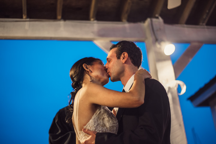 Ruth and Nick's Gorgeous Georgia Wedding with First kiss Look By Parenthesis Photography