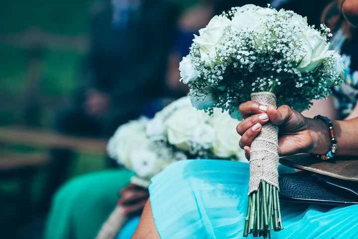 Wedding in Wolfen Mill bouquet Lancashire By Fairclough Photography