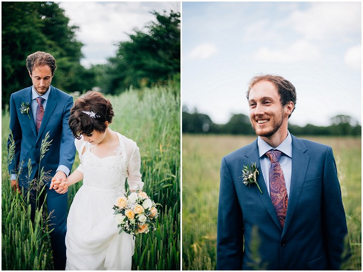 Back Garden Welsh Wedding By Kelly J Photography