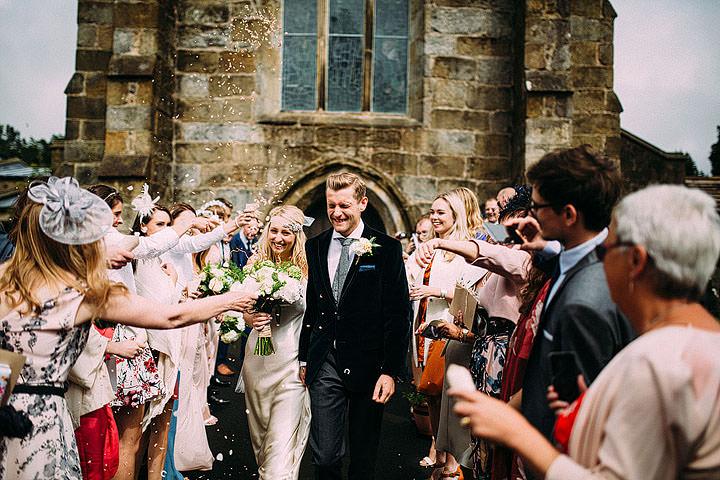 Book Themed Lancashire Wedding confetti By Lawson Photography