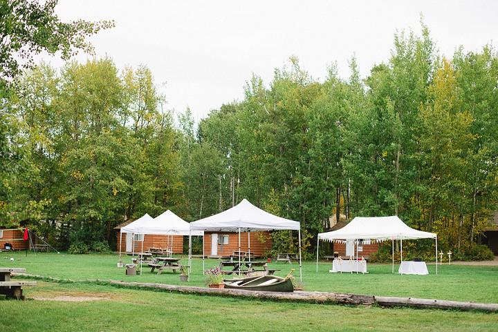 Canadian Camp Wedding By Kristyn Harder Photography