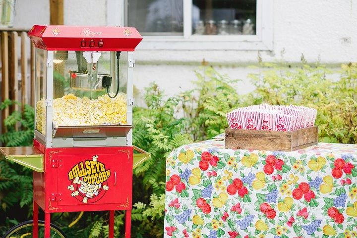 Canadian Camp popcorn Wedding By Kristyn Harder Photography