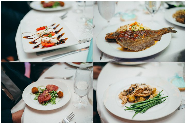 Ruth and Nick's Gorgeous Georgia Wedding food with First Look By Parenthesis Photography