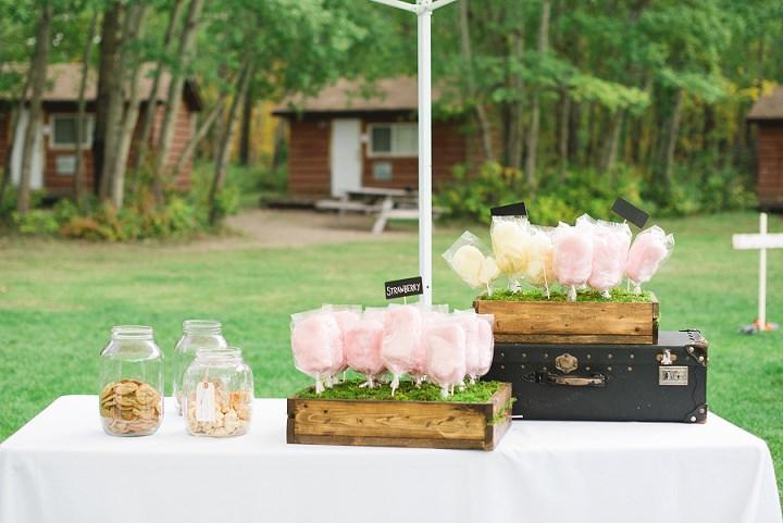Canadian Camp Wedding sweet treats By Kristyn Harder Photography