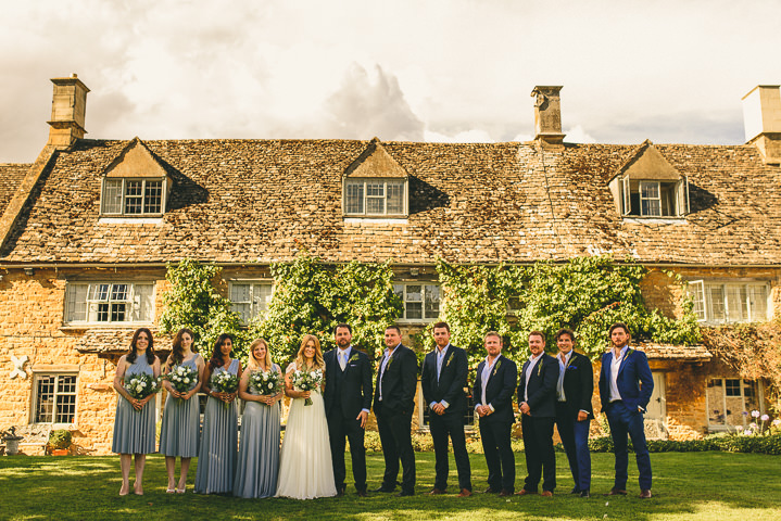 Country Garden bridal party Cotswolds Wedding By Miki Photography