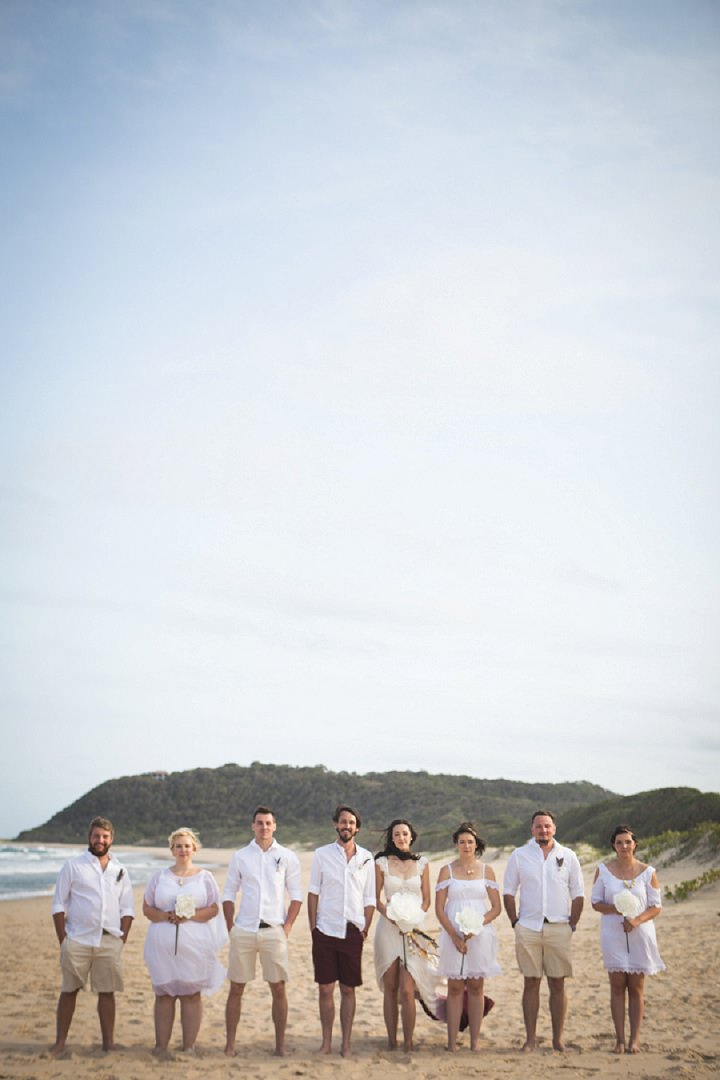 Beach Wedding in Mozambique By The Shank Tank