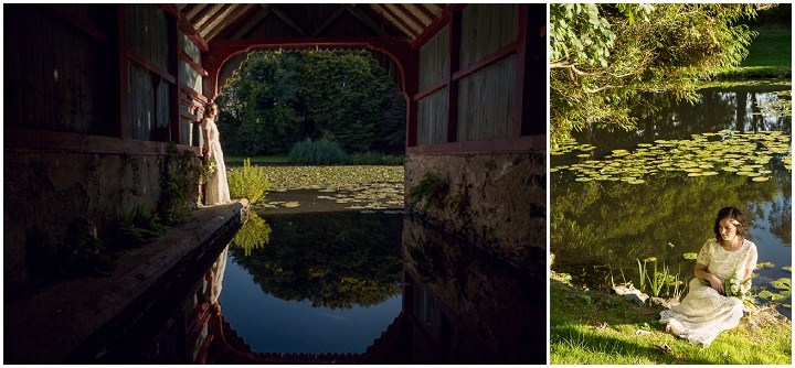 Outdoors In Anglesey Wedding bride By Gill Jones Photography