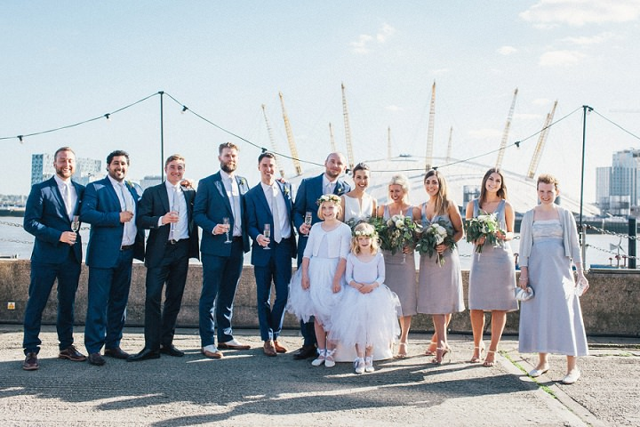 Wedding photography bridal party by Brighton Photographer Emma Lucy