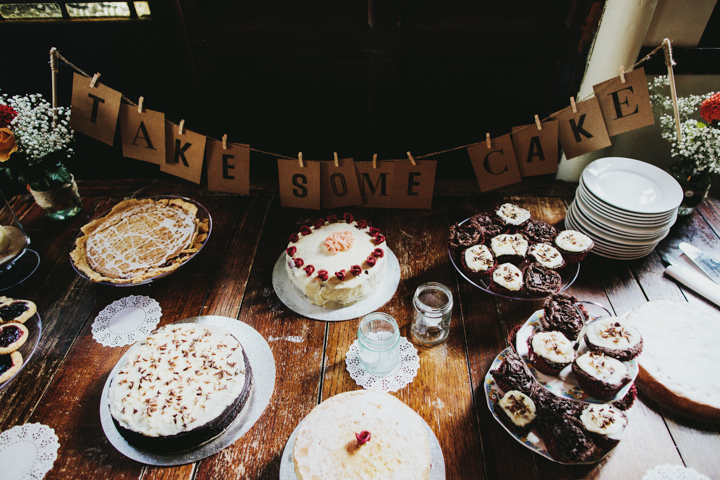 Hampstead and Prince Albert in Camden Wedding Cake Table By Craig and Kate