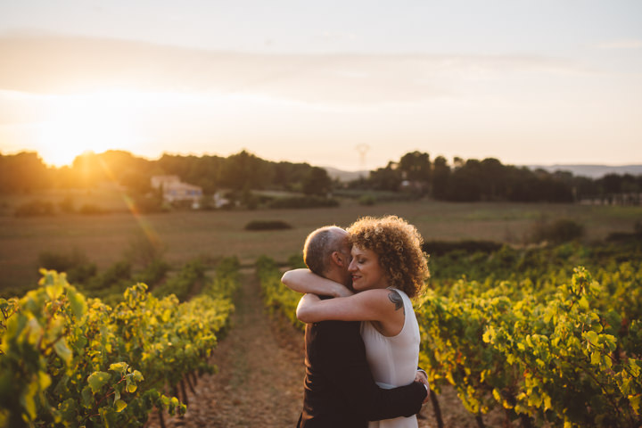 South of France Wedding bride and groom By Time Of Joy Photography