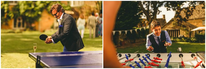 Country Garden Cotswolds Wedding garden games By Miki Photography