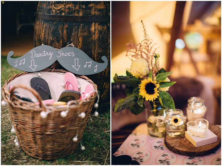 Festival Wedding details at Stanley Villa Farm in Preston By Mike Plunkett Photography