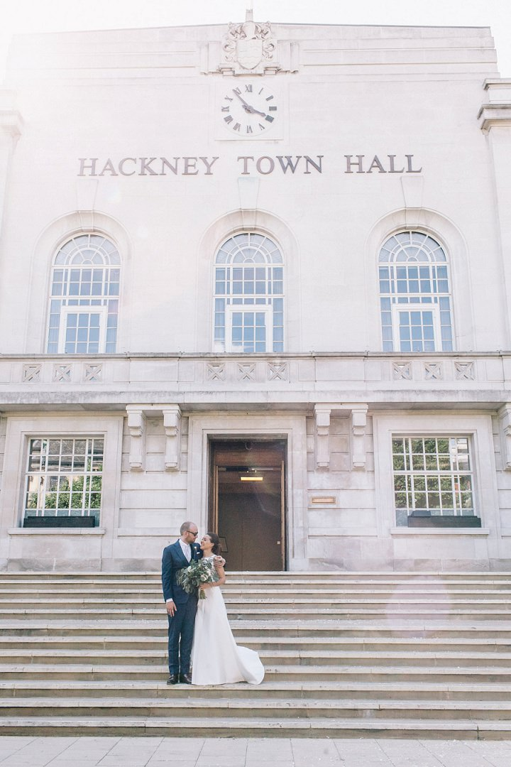 Wedding photography Hackney Town Hall by Brighton Photographer Emma Lucy