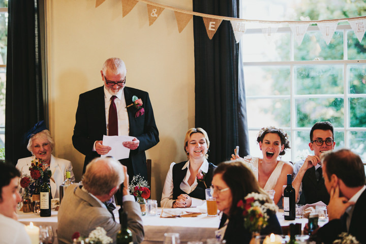 Hampstead and Prince Albert in Camden Wedding speeches By Craig and Kate