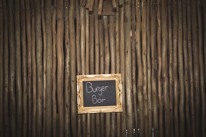 Beach Wedding burger bar in Mozambique By The Shank Tank