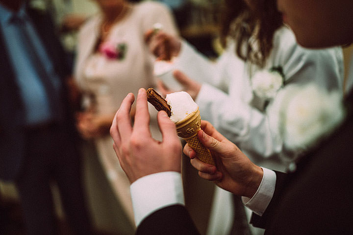 Book Themed Lancashire Wedding ice cream By Lawson Photography