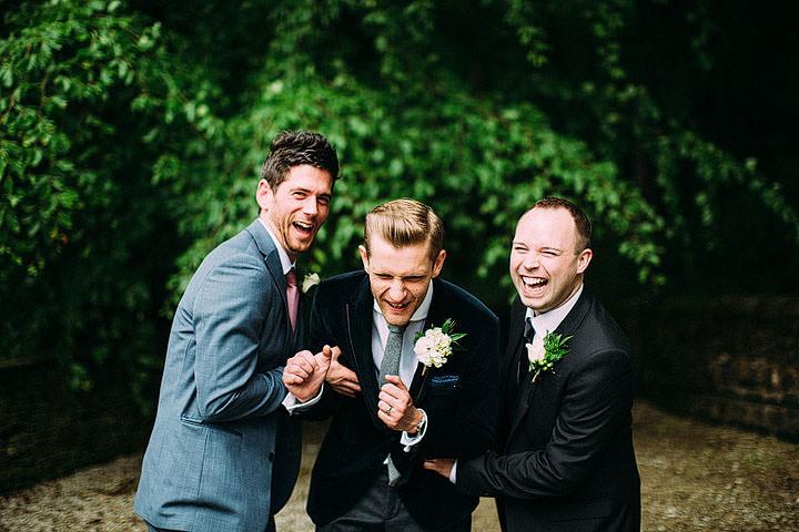 Book Themed Lancashire Wedding groomsmen By Lawson Photography