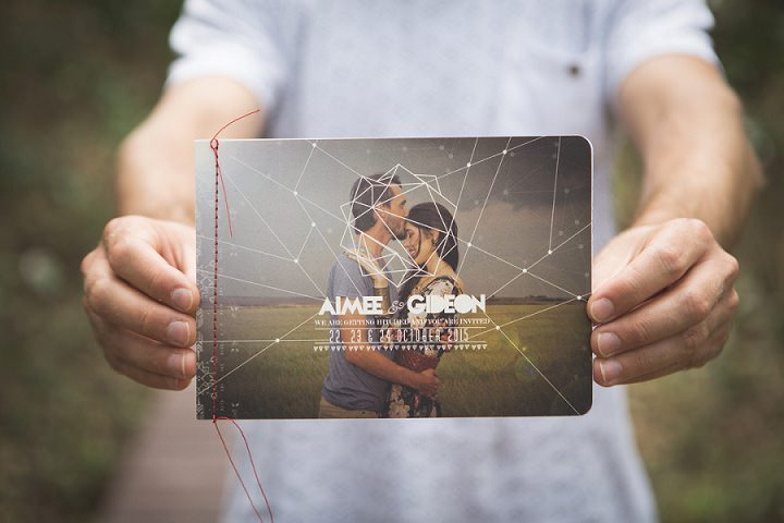 Beach Wedding invites in Mozambique By The Shank Tank