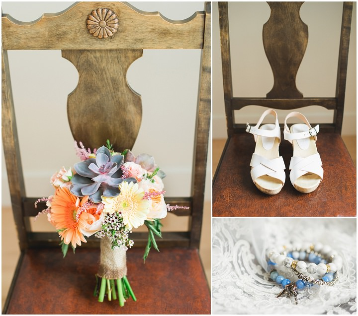 Canadian Camp Wedding bouquet By Kristyn Harder Photography