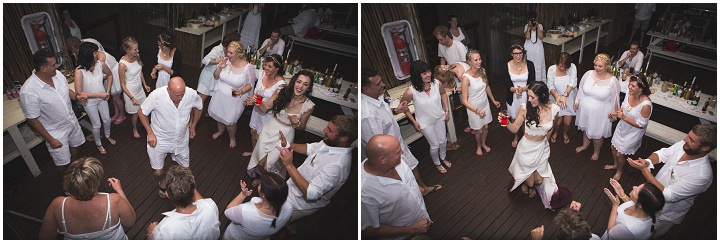 Beach Wedding dancing in Mozambique By The Shank Tank