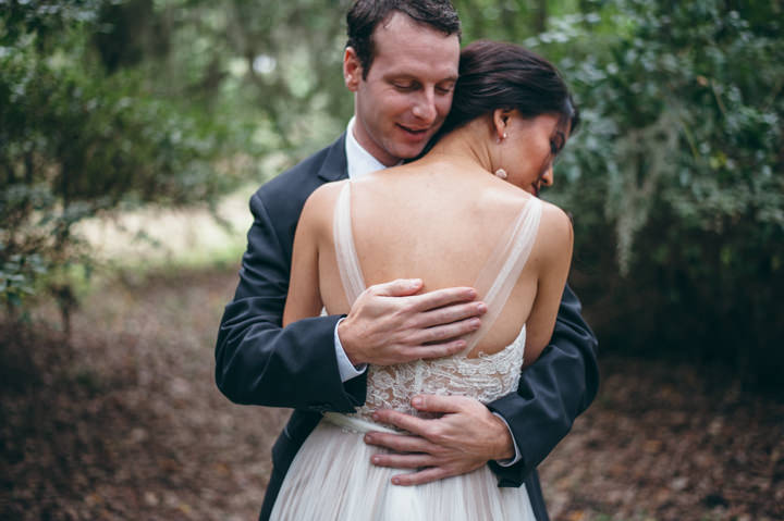 Ruth and Nick's Gorgeous Georgia Wedding with First Look By Parenthesis Photography
