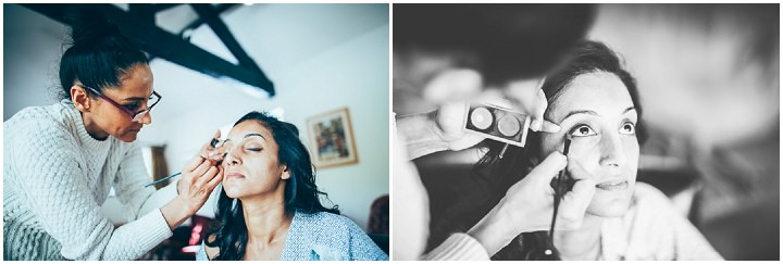 Wedding in Wolfen Mill bridal prep Lancashire By Fairclough Photography