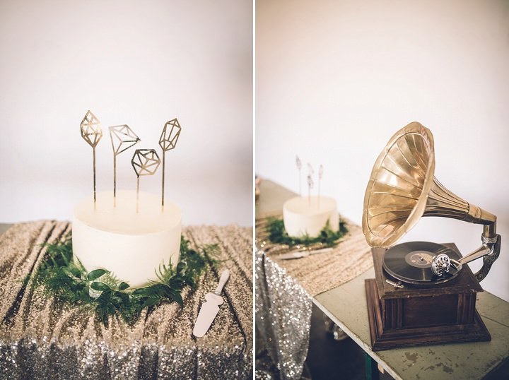 1920's Glamour Geometric Wedding Inspiration