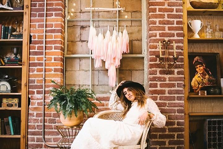 Industrial Boho Wedding Inspiration
