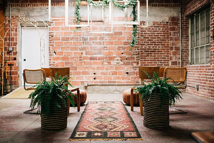 Industrial Boho Wedding Inspiration