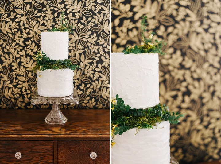 Industrial Boho Wedding Cake Inspiration