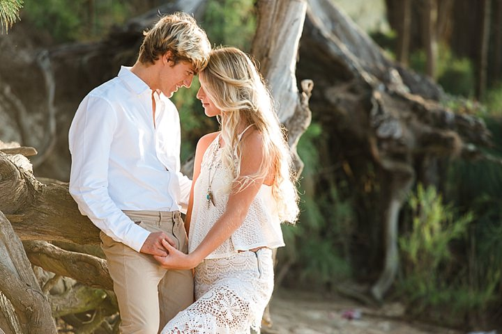 Beautiful Bohemian Wedding couple Inspiration