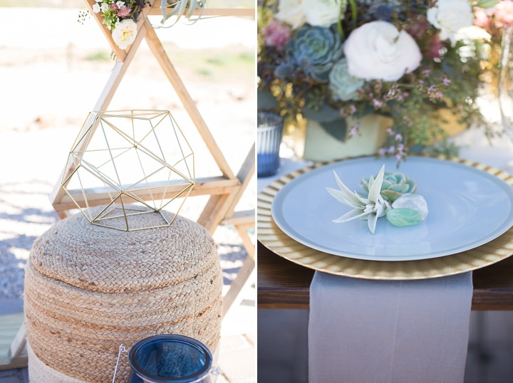 Modern Geometric Wedding Inspiration