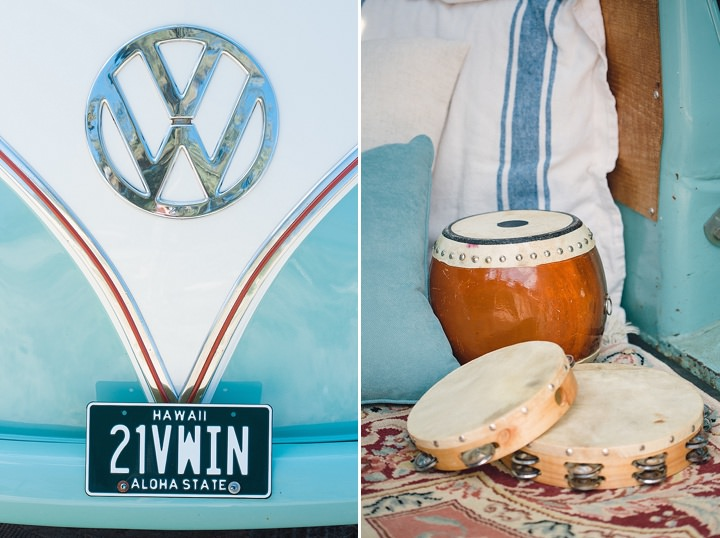 Beautiful Bohemian VW Campervan Wedding Inspiration