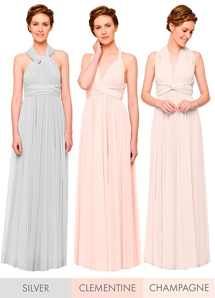 8978050958d ... convertible dress collection . Bridal Style  Twobirds - 2016 Bridesmaids  Collection ...