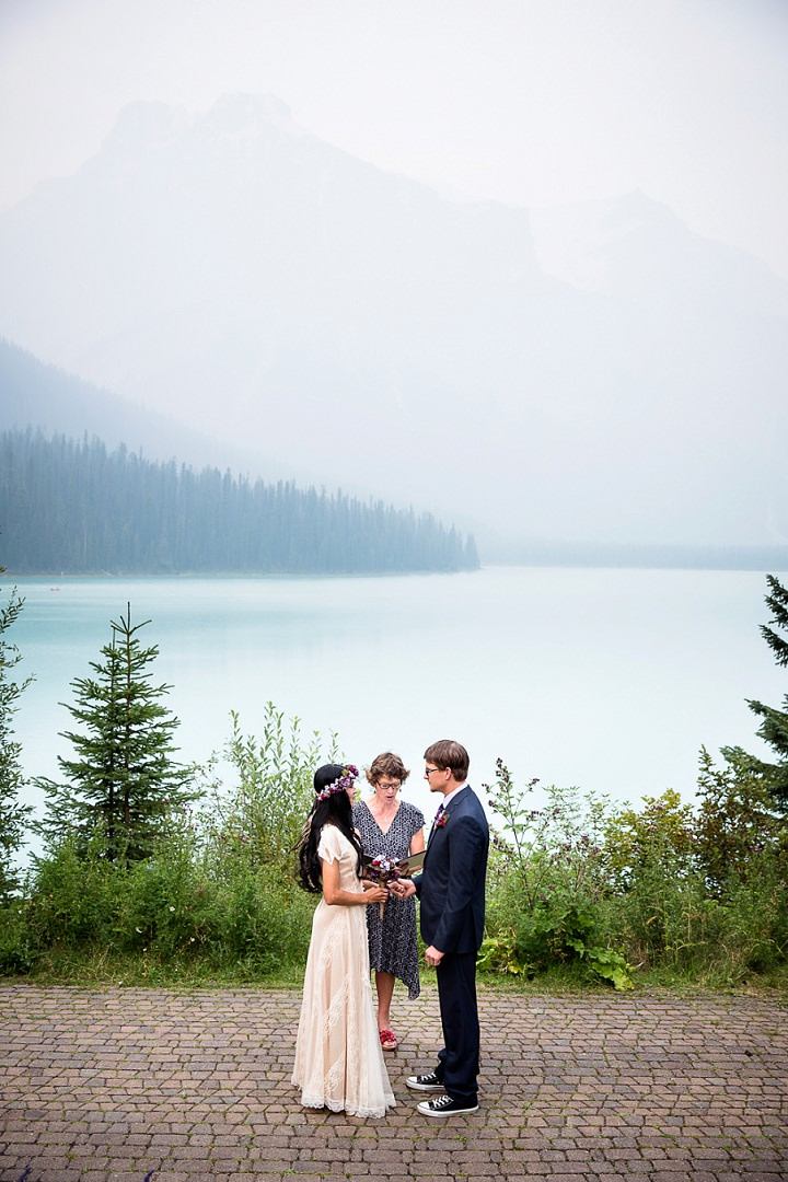 Beautiful Mountain Elopement By Kim Payant Photography