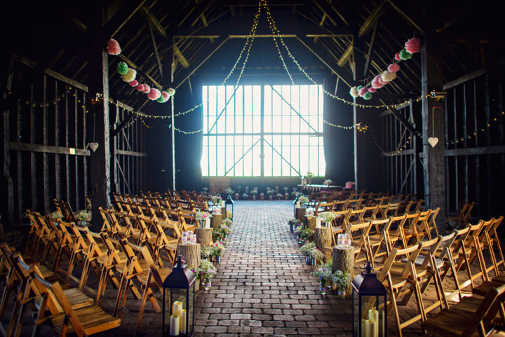Homespun Barn Wedding at Elmley Nature Reserve barn setting in Kent By Photography By Vicki