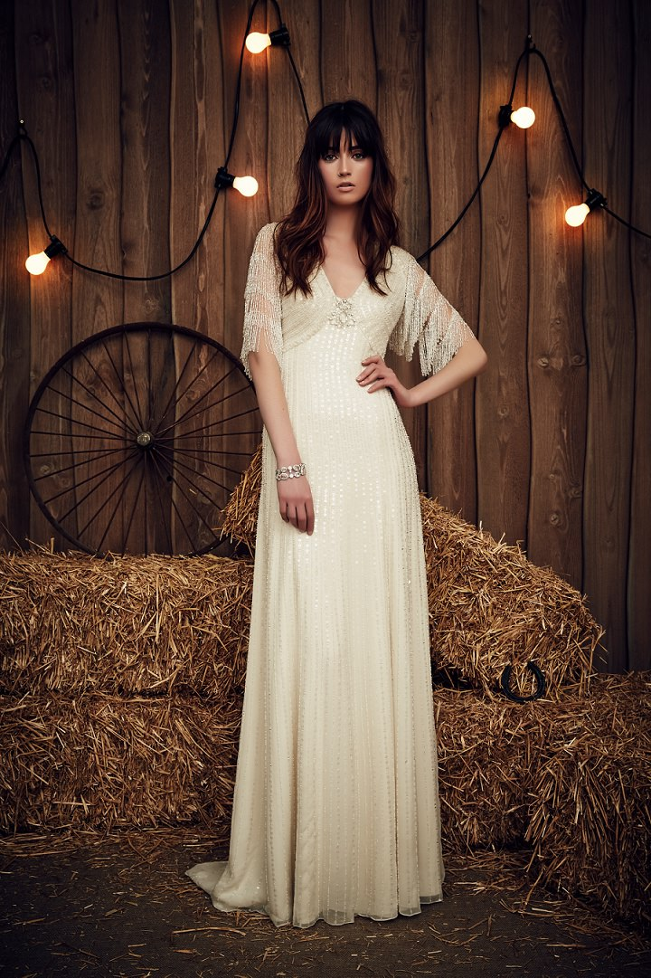 Bridal Style: Jenny Packham 2017 Bridal Collection - Contemporary Glamour With a Gypsy Spirit