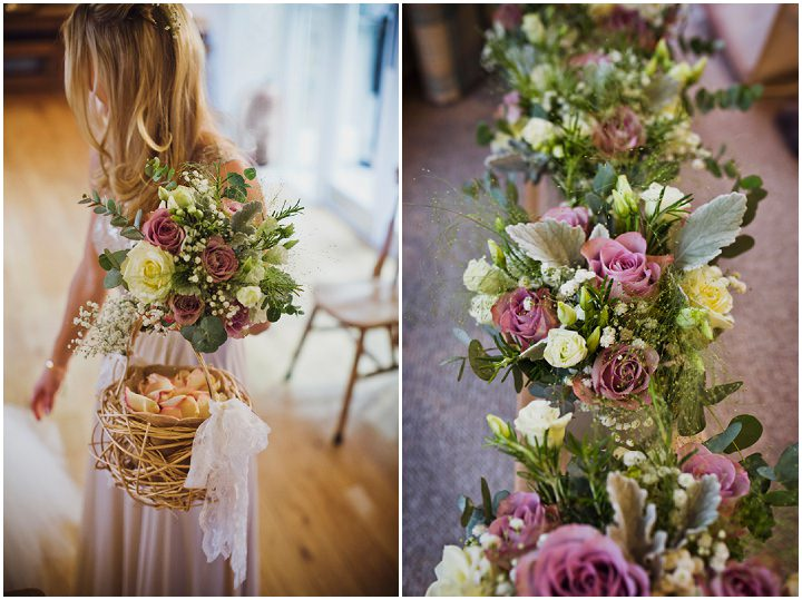 Rustic Winter Wedding Flowers By Mark Tattersall