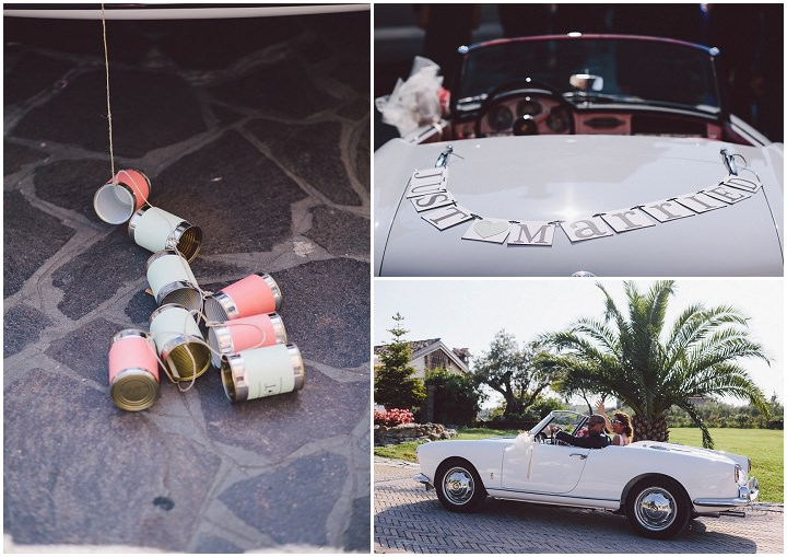 Rustic Luxe Italian transport Wedding By Lato Photography