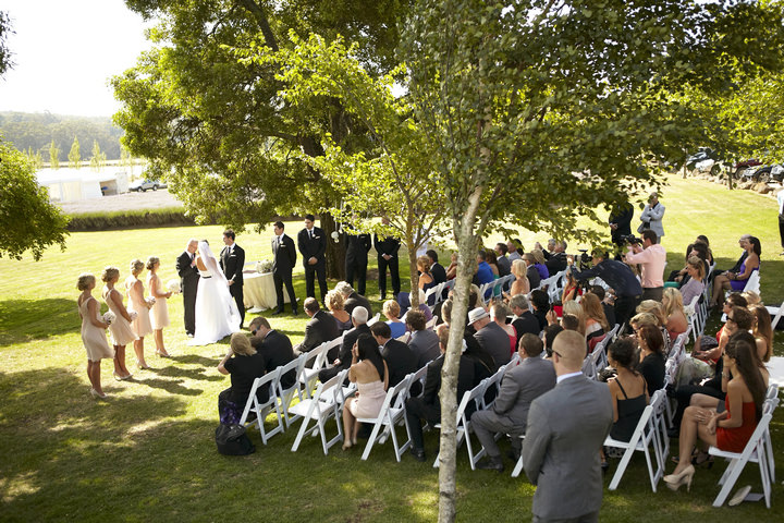 Chris And Lauren's Elegant And Natural Outdoor Wedding By