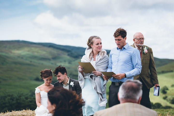 Welsh Farm readings Wedding By Mike Plunkett Photography