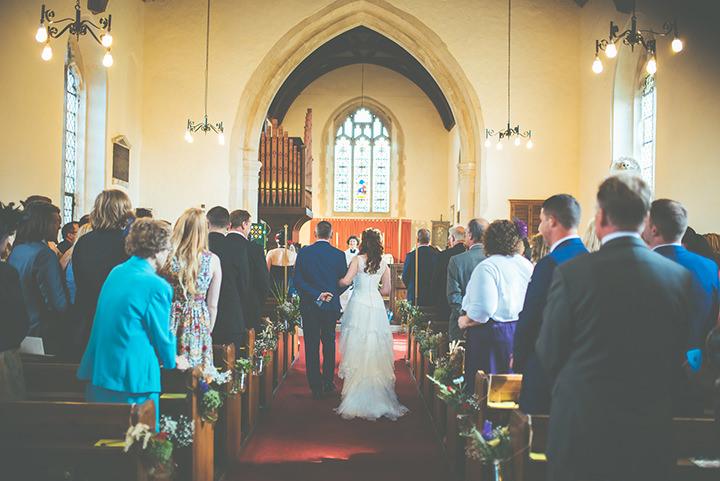 Retro Village church Fete Wedding By Tom Halliday