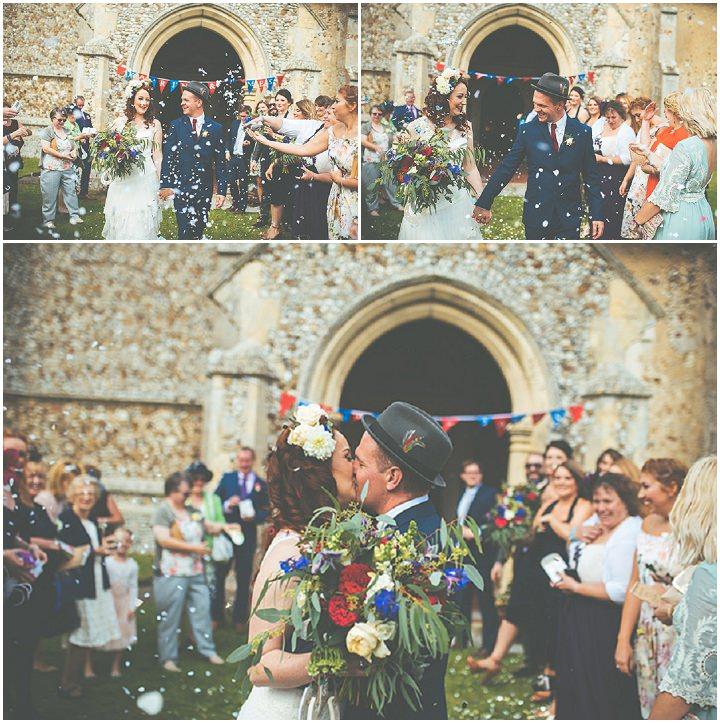 Retro Village Fete Wedding confetti By Tom Halliday