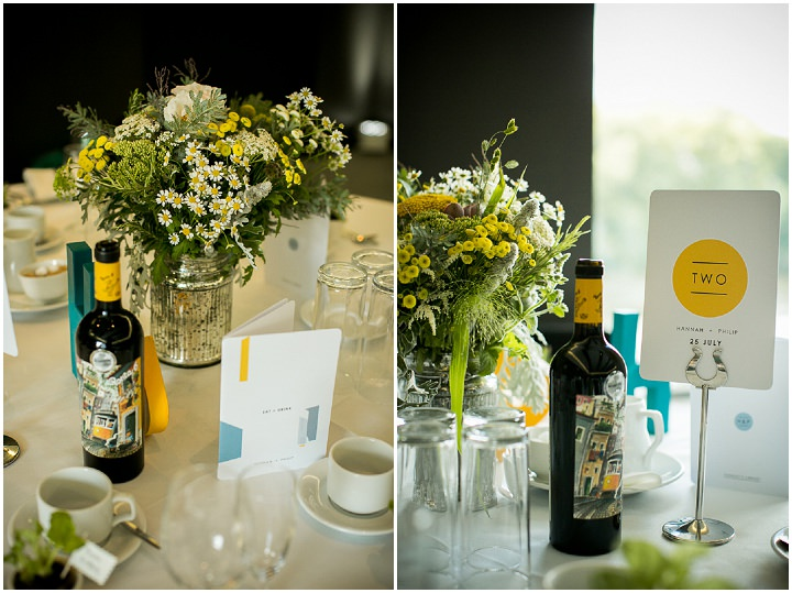 Modern Wedding details at The Hepworth By Matt Parry Photography