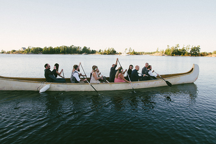 Canadian Camp Wedding on a canoe in two Parts By ME Creative