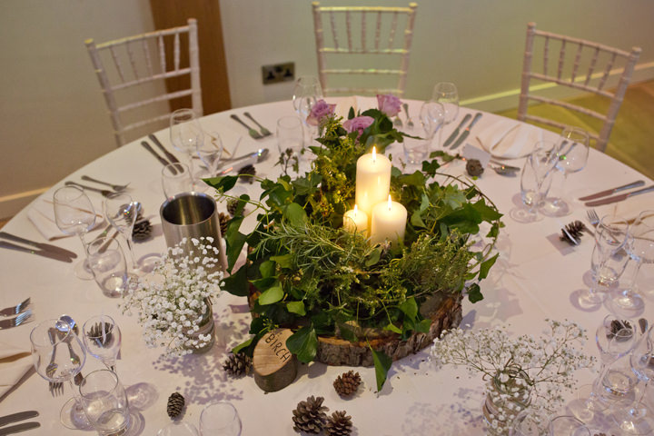 Rustic Winter Wedding table decor By Mark Tattersall