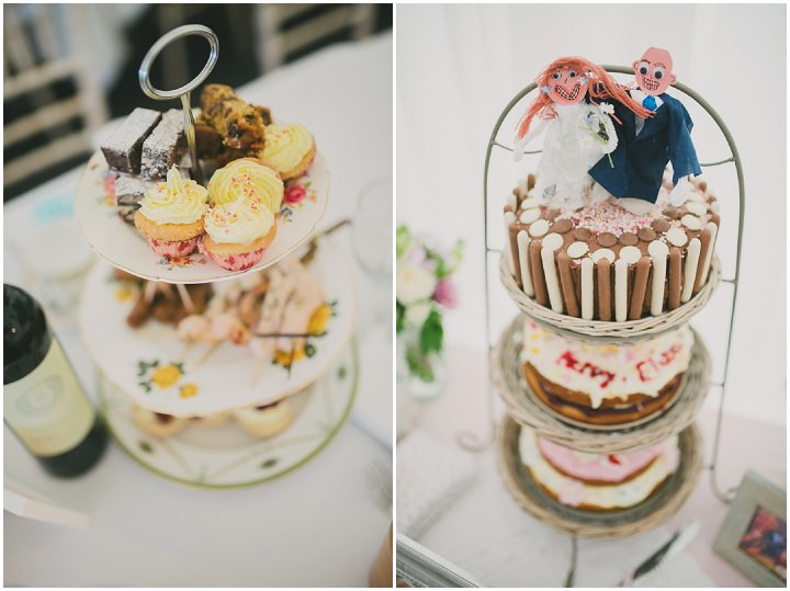 Somerset Wedding cake By John Barwood Photography
