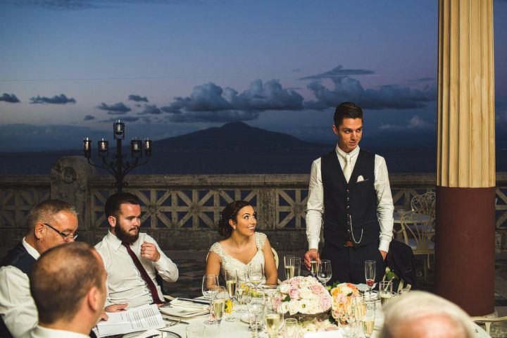 Sorrento Wedding speeches By S6 Photography
